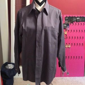 Dark Grey Dress Shirt